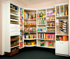 stylish kitchen pantry storage