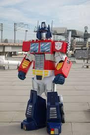 picture of optimus prime costume