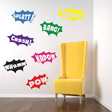vinyl concept batman wall stickers decals pow bang crash splatt on is vinyl wall art easy to remove with vinyl concept batman wall stickers decals pow bang crash