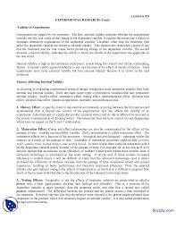 Discuss Experimental Research Design Experimental Research 3 Research Methods Handouts Docsity