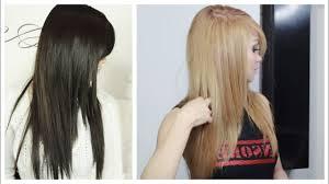 How To Lighten Hair At Home No Added Bleach
