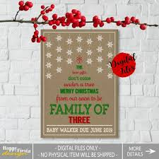 valentines day pregnancy announcement cards printable christmas pregnancy announcement card christmas card