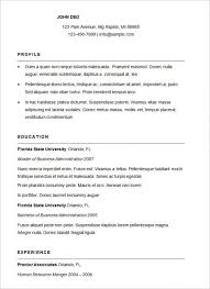 Business Resume Templates Classy 48 Business Resume Template Fitted Kenyadreamus