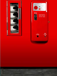Vending Machine Coin Return Awesome Red Clean Vending Machine Refrigerator Wrap Rm Wraps