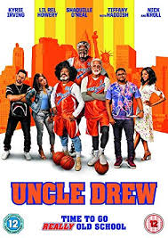 Uncle Drew Dvd 2018 Amazon Co Uk Kyrie Irving Lil Rey