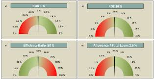 Financial Ratios Bullet Charts Excel Cfo
