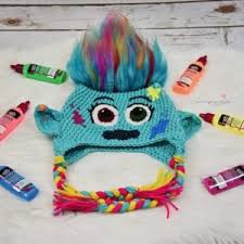 Trolls Crochet Hat Pattern Beauteous Trolls 48 Free Patterns To Crochet Grandmother's Pattern Book