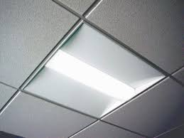Gives Double Light. 2×2 Drop Ceiling .