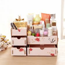 diy cosmetic makeup storage drawers case makeup organizer rangement maquillage organizer box storage organizer