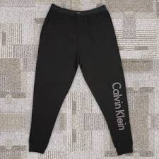 Calvin Klein Xl Size Chart Calvin Klein Mens 100 Cotton Heritage Body Sleep Joggers