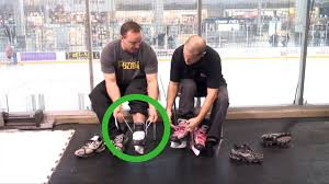 how to try ice skating for the first time steps tie ice skates