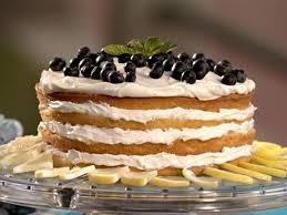 Lemon Blueberry Cake Recipe Sandra Lee Food Network