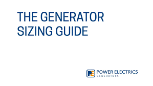 Generator Calculation Chart Generator Sizing A Step By Step Guide
