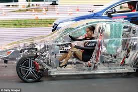 new car launches in germanyPictures of the World First Transparent Car Launched in Germany