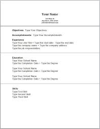 simple resumes examples no job experience resume template college resume examples with no