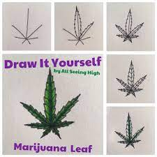 Drawings easy weed marijuana can be great in edibles that are easy to travel with and. How To Draw A Pot Leaf Trippy Drawings Hippie Art Hippie Painting