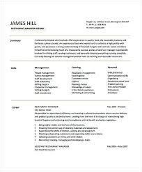 best 25 sample resume templates ideas on sample hospitality resume examples