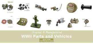 wwii military vehicle parts