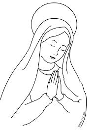 Disegno Immacolata Concezione Da Colorare Natale 25