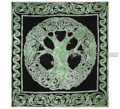tree of life tapestry cotton wall