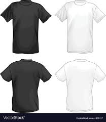 Black T Shirt Design White And Black T Shirt Design Template