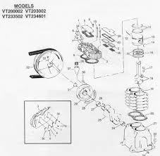sears air compressor parts. large size of congenial heads which are shown for er sears vt air compressor pumps along parts