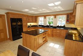 Granite Kitchen Floor Cream Floor Tiles Black Granite Worktop Google Search Kitchen