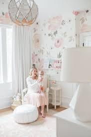 Nursery for a little girl by Monika Hibbs and Olio Studio. Photo by Blush  Wedding