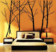 wall decoration ideas 7 add stickers wallpapers on wall