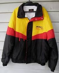 Slick 50 Racing Jacket NHRA Rickie Smith Quilted Line Size XL-2XL ... & Image is loading Slick-50-Racing-Jacket-NHRA-Rickie-Smith-Quilted- Adamdwight.com