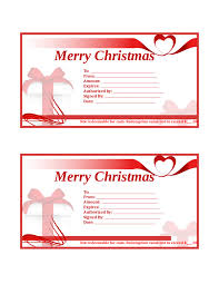 gift certificate template printable gift certificates in christmas gift certificate template 01