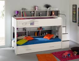 white gray solid wood office. Bunk Beds : Twin Over Full With Stairs Rack Before The Blue Wall Matched Design Mixed Varnished Solid Wood Lovely Sofa Set Sturdy Size For Kids White Gray Office