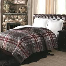 grey plaid comforter ultra velvet and white gray cuddl duds cozy soft 2 beautif