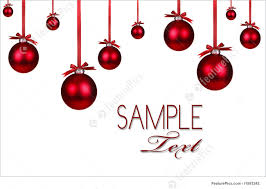 red christmas holiday or nt background christmas holiday background hanging red or nts and copy space for your own design