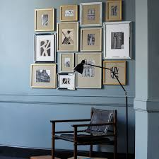wall art gallery photo frames square wooden photo frame in square and rectangular shape grey