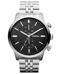 17 best images about watches shops dean o gorman fossil watch men s chronograph townsman stainless steel bracelet watches jewelry watches macy s