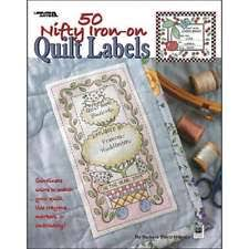 quilted sewing labels   eBay & Leisure Arts 50 Nifty Iron-On Quilt Labels 028906034660 Adamdwight.com