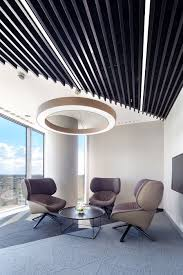 office ceiling lamps. Biuro EY, Warszawa, Armstrong, Sufity Podwieszane, Sufit Akustyczny, Acoustic, Ceiling Office Lamps