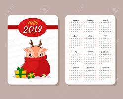 Chinese Calendar Template Template Of The Pocket Calendar 2019 Chinese Calendar For The