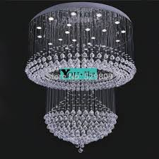 free large hotel lighting dia hmm modern design re crystal font b chandelier b font