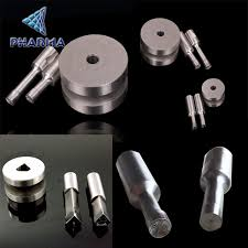 diy pill press tablet press machine special shape tungsten carbide tablet press punch and