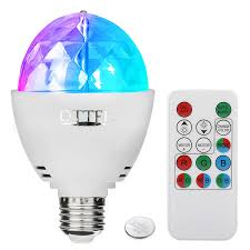 Rotating Led Disco Light Bulb Delightime Led Full Color Disco Light Party Light Amazing
