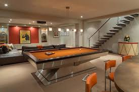game room lighting ideas. 6 tags contemporary game room with lshaped couch tanga 5light hanging chrome island lighting ideas