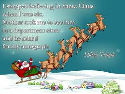 top believing santa claus christmas quotes 2017