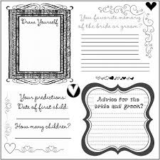 guest book template free diy wedding guest book template diy project