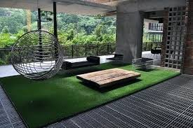 faux grass rug fake grass rug in outdoor living room faux grass rug