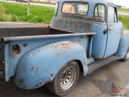 1953 Chevy Pickup Truck 5 window 3100 model short box Rat rod ...