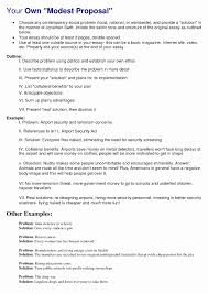 proposing a solution essay topics luxury collection solutions   proposing a solution essay topics unique your own modest proposal ap english