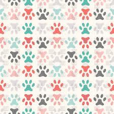 Paw Print Pattern Awesome Inspiration Ideas