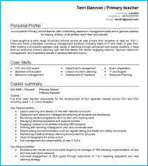 It Teacher Resume Teacher Cv Examples Writing Guide And Cv Template